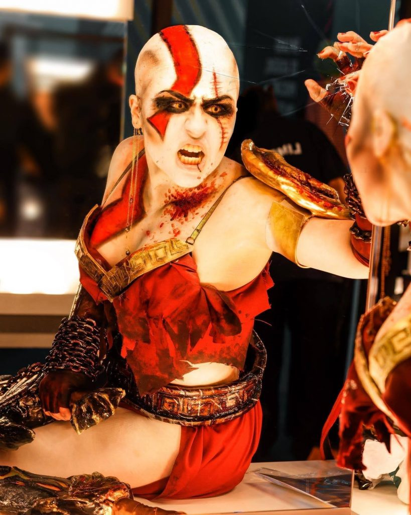 Cosplay Lady Kratos ❤️