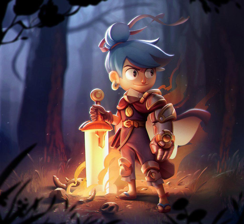 Ilustração de Games