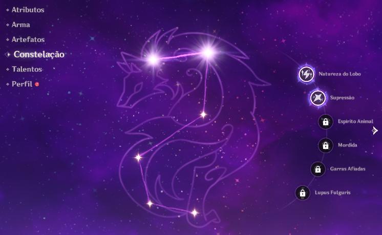 Constelação do Razor nos abismos de frio extremo