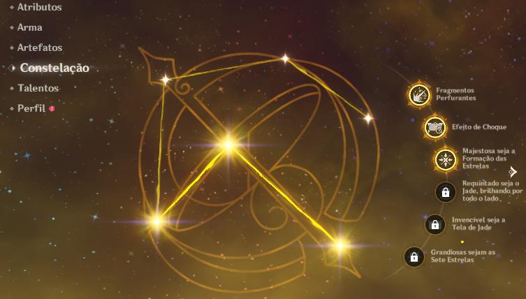 Constelações da Ningguang