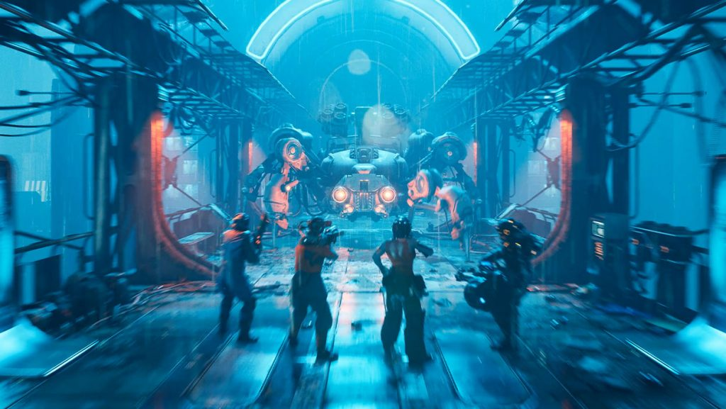 The Ascent é um dos games a ter seu lançamento em Julho de 2021.