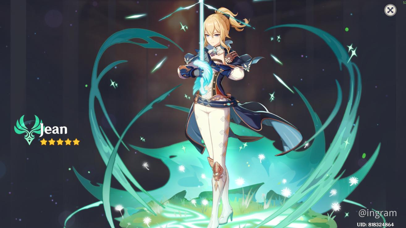 Uma alternativa para a Corrosão de Genshin Impact é Jean