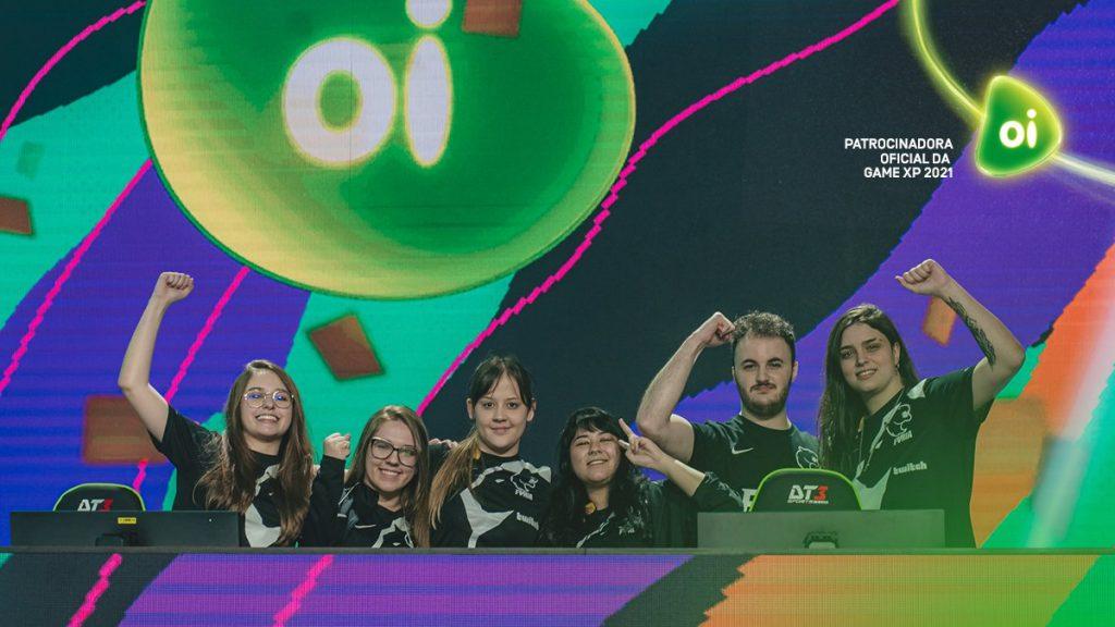 Furia é a grande campeã do campeonato feminino de CSGO