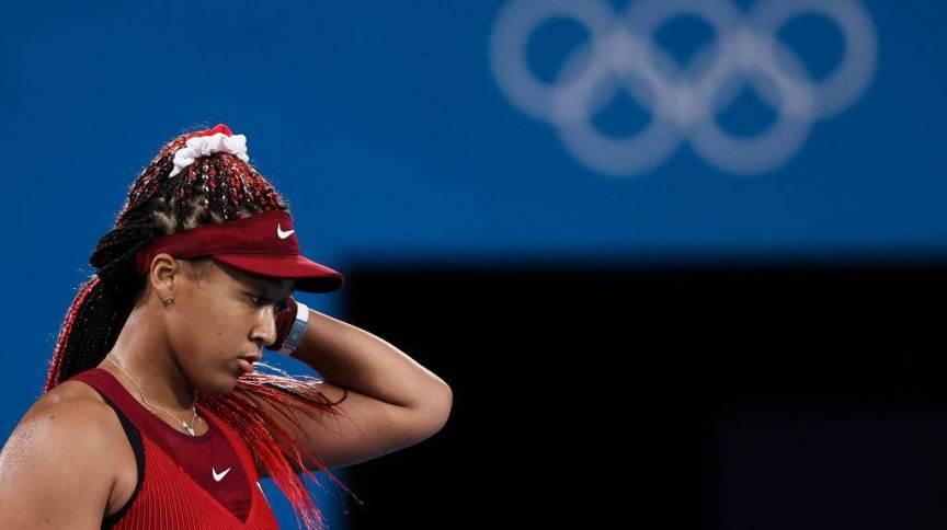 Naomi Osaka é um exemplo a ser seguido de cuidados com saúde mental nos esportes.